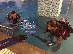 Rebreather Training Pool Session