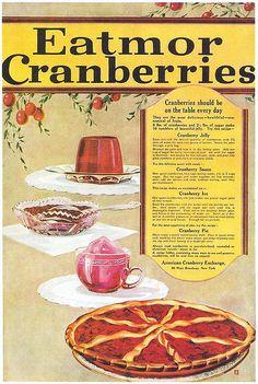 Eatmor Cranberries, 1919