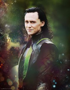 Tom Hiddleston as Loki Laufeyson in The Avengers