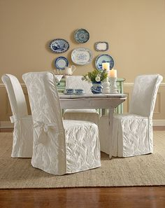 Dining Room Chairs | Sure Fit Slipcovers | Sillas vestidas ...