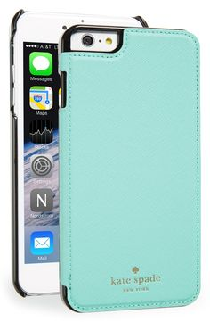 Loving the beautiful color of this phone case from Kate Spade. There's even a handy built-in mirror!