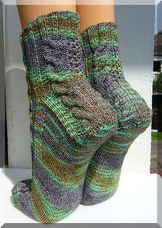 Damen Socken,6er PACK,Sommerliche Rollrand-Socken