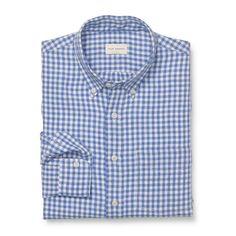 Slim-Fit Gingham Shirt - See All Men at Club Monaco USD 39