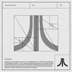 Atari logo construction
