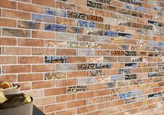 These decos are perfect for the antiquities aficionado. Inspired by vintage gas station signs, motorcycle brands, and more they add whimsy and character to any area. #porcelain #brick #tile