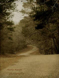 Country Road After by Martys Fiber Musings, via Flickr