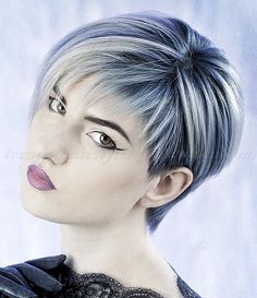 short hairstyles with long bangs, short hair long fringe - asymmetrical short hairstyle 2015
