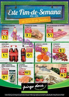 Antevisão Promoções Folheto Pingo Doce - de 23 a 26 de Janeiro - Folheto F - Monofolha fim-de-semana