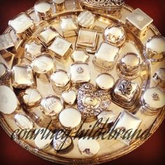 A tray of ring boxes...of the Sterling variety