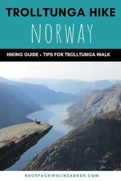 Trolltunga Hike | Norway - The walk to Trolltunga in Norway is one of the most beautiful places to visit. A fun hike, a stunning view and great photo opportunities! This includes how to get to Trolltunga plus tips for the hike and getting the best photos #norway #hiking #hike #trolltunga #hikingtrails
