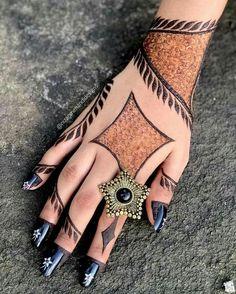 Khafif Mehndi Design, Floral Henna Designs, Back Hand Mehndi Designs, Latest Bridal Mehndi Designs, Stylish Mehndi Designs, Mehndi Designs Book, Mehndi Designs For Beginners, Mehndi Design Photos, Wedding Mehndi Designs