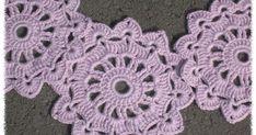 Löysin uuden ja kivan kukkakuvioisen mallin  Pinterestin kautta, ja tätä kuviota on nyt tullut virkka... Crochet Earrings, Blanket, Blankets, Cover, Comforters