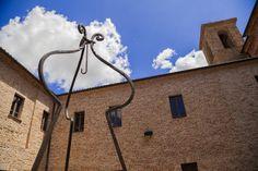 Convento Santa Vittoria, Fratte Rosa (PU).Il chiostro #destinazionemarche