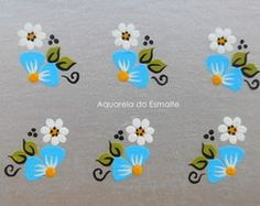 Adesivo de Unha Artesanal Daisy Nails, Nail Designer, One Stroke Painting, Manicure And Pedicure, Pedicures, Drawing For Kids, Nail Art Designs, Ale, Stickers