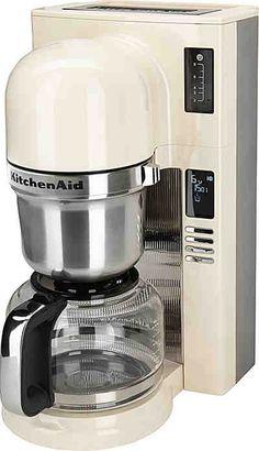 KitchenAid® Filterkaffeemaschine 5KCM0802EAC, crème