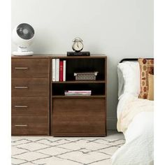 Sleek style and ease of use come together in this 4 Drawer chest of drawers. Standing 33 inches tall and 25 inches wide, these units are perfectly sized for Barrister Bookcase, Cube Bookcase, Etagere Bookcase, Wood Dresser, Dresser As Nightstand, Space Furniture, Living Room Furniture, Furniture Layout, Furniture Sale