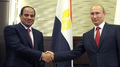 Russia and Egypt might soon exclude the US dollar and use their national currencies in the settlement of accounts in bilateral trade, Russian President Vladimir Putin said in an interview to Egyptian media ahead of his Monday visit to the country.