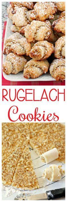 Rugelach Cookies #christmas #thanksgiving #cookies