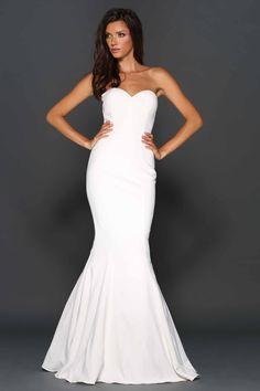 Abigail Dress By Elle Zeitoune Designs White
