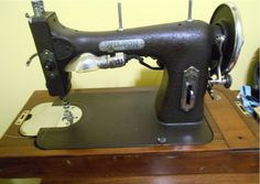 Wilson Rotary made by White Sewing Machines, Rotary, Upholstery, Fabric, Tejido, Treadle Sewing Machines, Reupholster Furniture