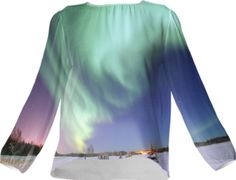 Aurora Silk Top - Available Here: http://printallover.me/collections/sondersky/products/0000000p-aurora-18