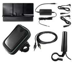 SiriusXM Satellite Radio Motorcycle Kit with Hardwired Power Adapter, Motorcycle Mount, Protective Case, and Motorcycle Antenna by SiriusXM Radio. $84.95. Introducing our newest standard XM Radio motorcycle installation kit. With this kit you can use your plug and play receiver to get XM Radio service on your motorcycle. This kit includes the PowerConnect vehicle cradle, Hardwired 5 Volt Power Adapter, auxiliary cable, XM Radio motorcycle mount with protective case, and XM Ra...