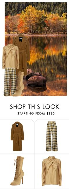 """""""Fall Outfit"""" by mpmongillo ❤ liked on Polyvore featuring Karl Lagerfeld, IRO, Sea, New York, Yeezy by Kanye West and Temperley London"""