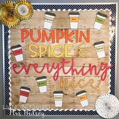 Get the creative inspiration you need this fall with these teacher-approved classroom decor ideas—and a pumpkin spice coffee! Get the creative inspiration you need this fall with these teacher-approved classroom decor ideas—and a pumpkin spice coffee!