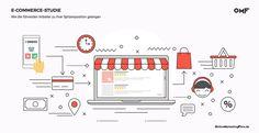 E-Commerce-Studie: Die weltweit beliebtesten Marketingstrategien Online Shops, New Market, New Trends, Online Marketing, Ecommerce, Diagram, News, Platform, Knowledge