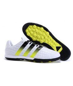 best service 96631 ca535 Adidas ACE 16.2 Messi TF Zapatillas futbol sala blanco amarillo negro