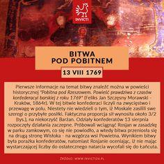 Konfederaci kontra Rosjanie !  #bitwa #pod #pobitnem #invicti #opowiadamyhistorie Sentences, Education, School, Frases, Onderwijs, Learning