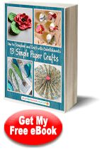 """""""How to Scrapbook and Craft with Embellishments: 13 Simple Paper Crafts"""" 