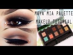 MAYA MIA PALETTE | COOL-TONED FALL MAKEUP TUTORIAL