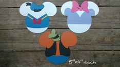 Disney Themed Scrapbooking Embellishments or by ScrapWithMeToo