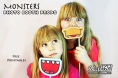 """Check out the monster mouths that we found for picture props that can be used at movie night events showing """"Hotel Transylvania"""". I'm sure movie goers will have a ghoulish time coming up with poses for their pictures. - A Southern Outdoor Cinema pre-movie activity tip for outdoor movie events."""