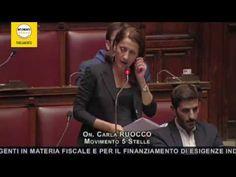 """Carla Ruocco M5S """"Equitalia? La macchina mangia soldi cambia solo il nome"""""""