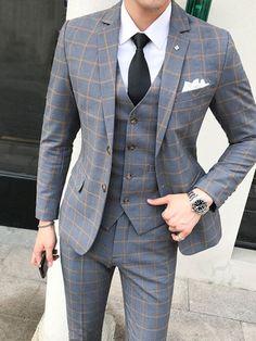 Top Fashion, Plaid Fashion, Mens Fashion Suits, Mens Suits, Cheap Fashion, Fashion Dresses, Trendy Fashion, Latest Fashion, Fashion Shoes
