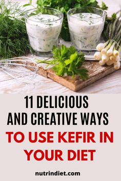 Wanting to start using kefir more often in your diet and get the benefits of kefir? Then see these 10 recipes and ways to use kefir in your day-to-day. #kefir #howtoeatkefir #kefirbenefits Healthy Diet Tips, Get Healthy, Kefir Benefits, Kefir Recipes, Types Of Diets, Lose Weight, Nutrition, Eat, Breakfast