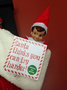 elf express envelope the elf on the shelf | the Elf on the Shelf ...
