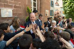 S.A.S. le Prince Albert II en visite dans le Territoire de Belfort ©Eric MATHON…