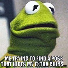 Unflattering Pose Time     https://www.instagram.com/onlinealarmclock/  #Selfie #Selfies #Social #SocialMedia #Kermit #Muppet #Muppets #Instagram #Photos #FashionBlogger #FashionBlog #Fashion #Style #FashionTips #Diet #Dieting #WeightLoss #WeightLossJourney #WeightLossGoals #WeightLossStory #Frog #Frogs #Amphibians