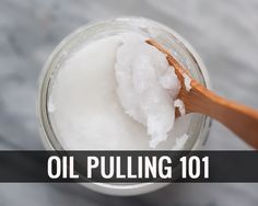 Oil pulling is an ancient Ayruveda holistic dental care method that involves nothing more than swishing cold-pressed oil in your mouth for a certain period of time Homemade Coconut Oil, Coconut Oil For Teeth, Coconut Oil Pulling, Coconut Oil Uses, Oil Pulling Olive Oil, Coconut Oil Cellulite, Cellulite Scrub, Cellulite Remedies, Essential Oils