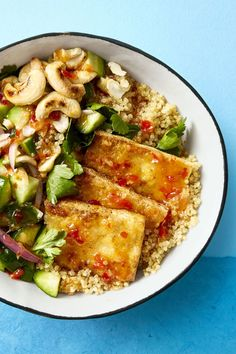 Crispy Tofu Bowl - GoodHousekeeping.com