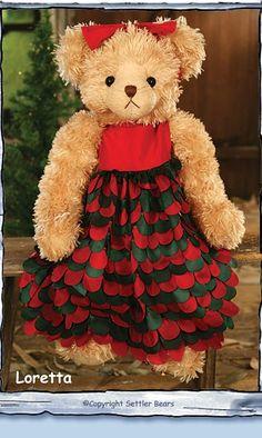 Christmas bear 2011 -  LORETTA
