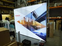 The power of light…it even looks great in the warehouse! Imagine how good it will look on the trade show floor. Need an over-sized light box to brighten up your next exhibiting experience? Need to enhance your retail environment? Let Mark Bric Display's ISOframe backlit fabric light boxes be your solution. Call 804-862-4655 for details. www.ISOframeExhibits.com #WEDNESDAYWISDOM #lightbox #exhibitionstand #tradeshow #ISOframeExhibits #ISOframe #Exhibitions #BoothDesign #MarkBric #eventprofs
