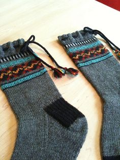 Ravelry: Andean Inspired Socks pattern by Gretchen Funk