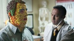 Ad of the Day: Life Isn't Easy for a Man Made of Skittles in Candy Brand's Mockumentary | Adweek