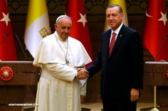 """Pope Francis starts a 3-day tour of Turkey today, where he is calling for an end to """"all forms of fundamentalism"""", and for all the religions to """"unite to fight poverty and hunger"""". Since he said he seeks and end to ALL FORMS of fundamentalism, we can only assume he is referring to Christian, bible believing fundamentalism as well.  #PopeFrancis http://www.nowtheendbegins.com/blog/?p=28574"""