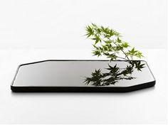 Ceramic vase PLAN BIG - Moustache
