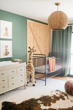 A Chic Nursery That Puts Boho Twist On The Safari Theme